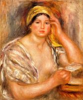 Женщина в желтой чалме