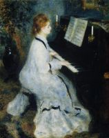 Девушка за роялем