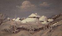Зима. Посл. треть XIX - начало XX века.