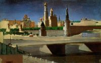 Москва. Вид на Кремль со стороны Замоскворечья.