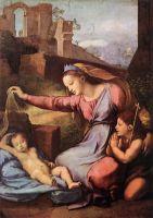 Мадонна с голубой диадемой