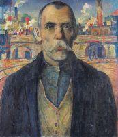Портрет ударника (Краснознаменец Жарновский)