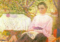 Портрет члена семьи художника