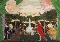 Эскиз занавеса для Свободного театра в Москве