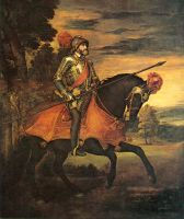 Портрет Карла V верхом на лошади