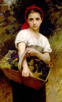 Сборщица винограда