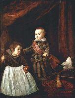 Принц Бальтазар и карлик