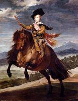 Принц Бальтазар Карлос на коне