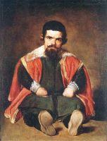 Портрет придворного шута (Себастьяна Морры)
