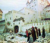 Московский застенок. Конец XVI века.