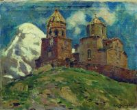 Церковь Цминда Самеба. Кавказ.