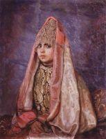 Боярышня (Портрет В.С.Мамонтовой).