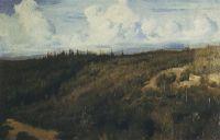 Пейзаж под Абрамцевым.