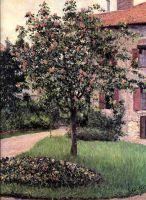 Петит Женневилиер, фасад, юг студии худижника с видом на сад, весна