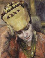 Портрет молодой женщины в кокошнике