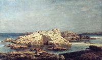 Скалы в Сен-Мало. Знойный день