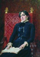 Портрет дамы с книгой