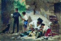 Стрижка собак в Неаполе