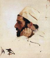 Голова И.И.Левитана в повороте головы Христа в картине Мечты