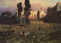 Константинополь (Стамбул). Эски-Сарайский сад