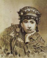 Черногорская девушка
