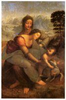 Святая Анна и Мария с младенцем
