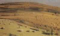 Место битвы 18 июля 1877 г. перед Кришинским редутом под Плевной