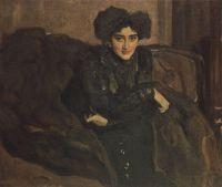 Портрет Е.И.Лосевой.