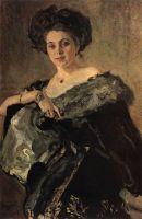 Портрет Е.С.Морозовой.