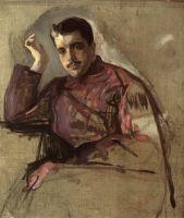 Портрет С.П.Дягилева.