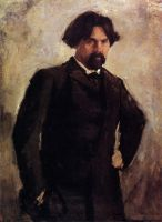 Портрет художника В.И.Сурикова.