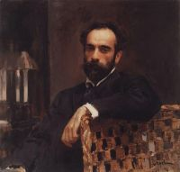 Портрет художника И.И.Левитана.