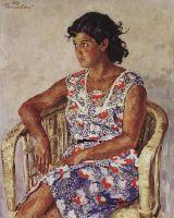 Портрет девушки-испанки Хулиты Перикаччо.