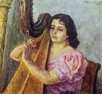 Портрет артистки Веры Георгиевны Дуловой.