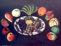 1910-е Натюрморт с бананами.. Х., м. 97х129. Переславль-Залесский