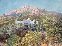 1920-е Вид на санаторий 'Красные зори'.
