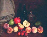 1939 Натюрморт 'Фрукты'. Х., м. Калуга