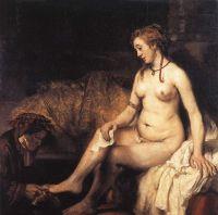 Вирсавия в ее ванной