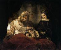 Иаков благословляет детей Иосифа