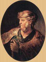 Портрет мужчины в восточных одеждах
