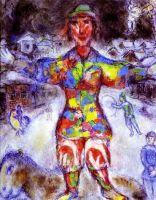 Разноцветный клоун