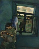 Белла и Ида у окна