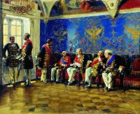 В ожидании аудиенции. 1904