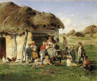 Крестьянские дети. 1890