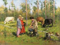 Пастушки. 1903-1904