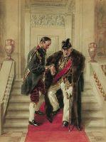 На парадной лестнице. 1914-1919