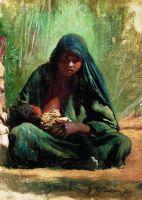 Египтянка с ребенком. 1876