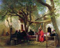 Дервиши в Каире. 1875
