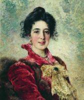 Женский портрет. 1890-е
