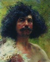 Этюд мужской головы. 1897